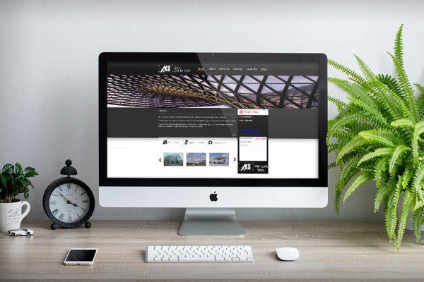 Aks Çelik Yapı San. Tic. Ltd. Şti. – Web Tasarım