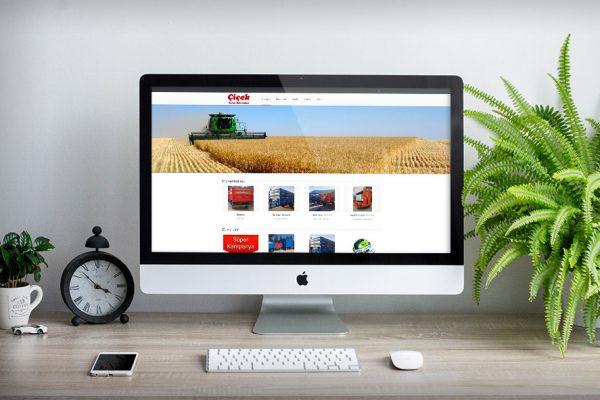 Çiçek Tarım Makinaları – Web Tasarım