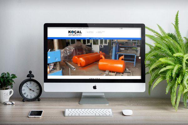 Koçal Çelik – Web Tasarım