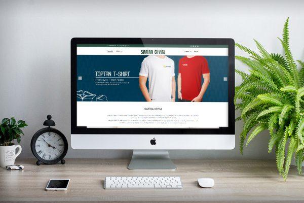 Safira Giyim –  Web Tasarım