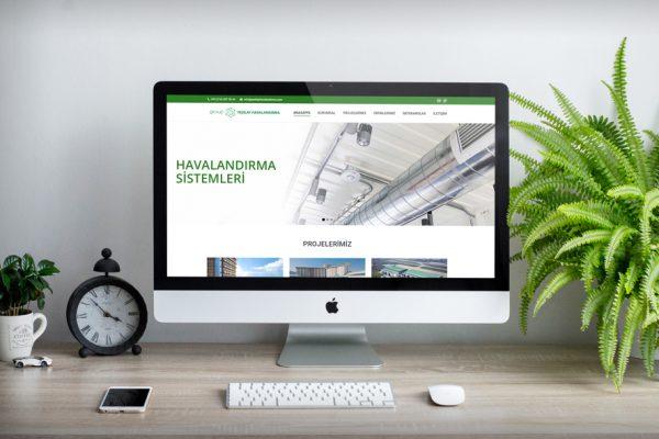 Yeşilay Havalandırma – Web Tasarım