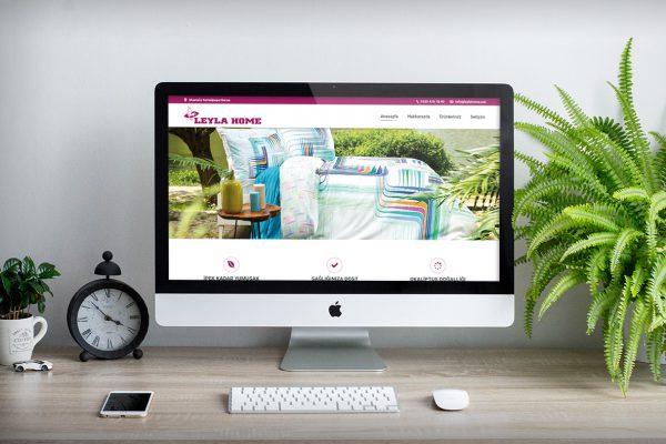 Leyla Home – Web Tasarım