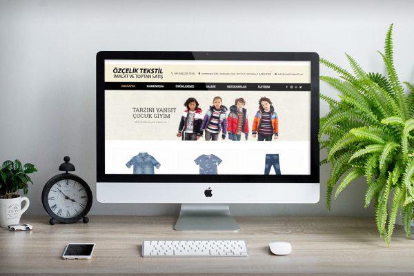 Özçelik Tekstil – Web Tasarım