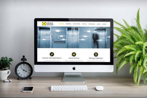 Uras Asansör – Web Tasarım