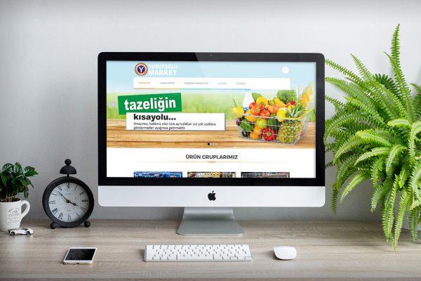Yusufoğlu Market – Web Tasarım