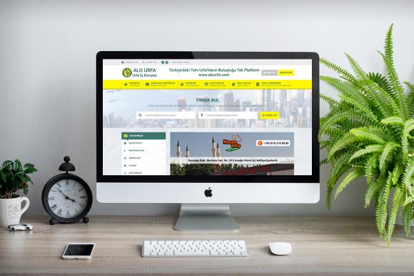 Alo Urfa – Web Tasarım