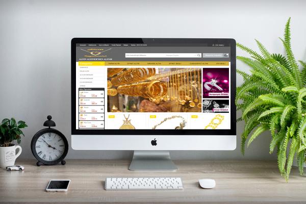 Altıner Kuyumculuk – Web Tasarım