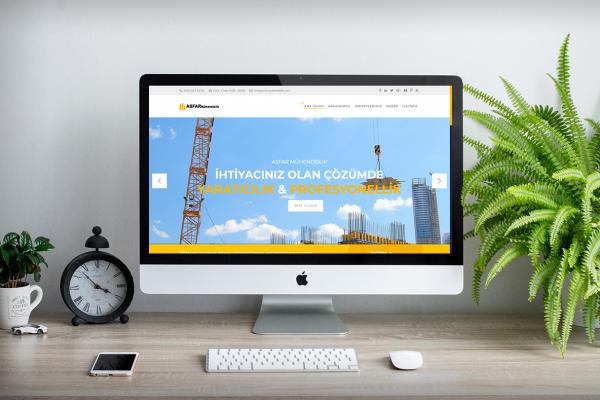Asfar İnşaat Mühendislik – Web Tasarım