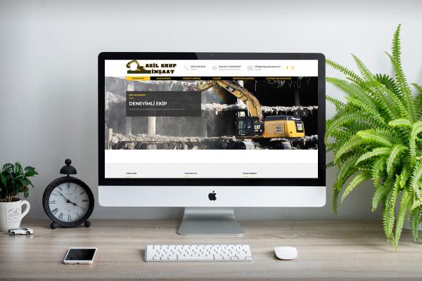 Asil Grup İnşaat – Web Tasarım