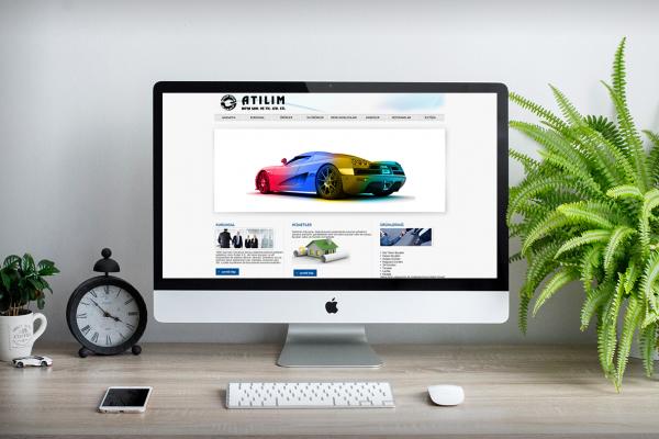 Atılım Boya – Web Tasarım