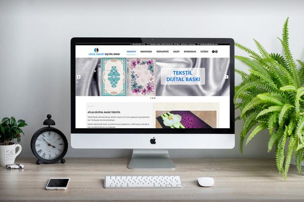 Atlas Dijital Baskı – Web Tasarım