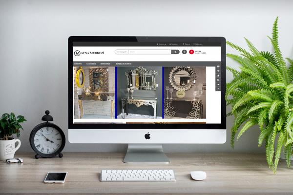 Ayna Merkezi – Web Tasarım