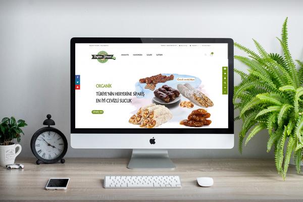 Bayhan Yöresel Ürünler – Web Tasarım