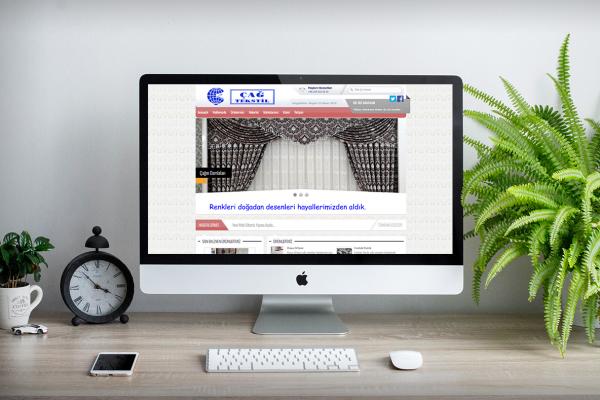 Çağ Tekstil – Web Tasarım