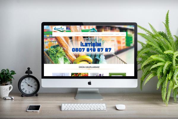 Damlar Gıda – Web Tasarım
