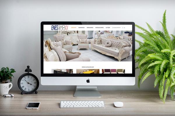 Enes Showroom Mobilya – Web Tasarım