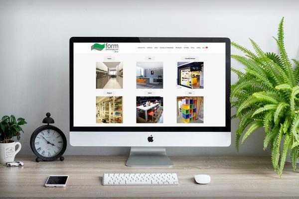 Form Dekorasyon – Web Tasarım