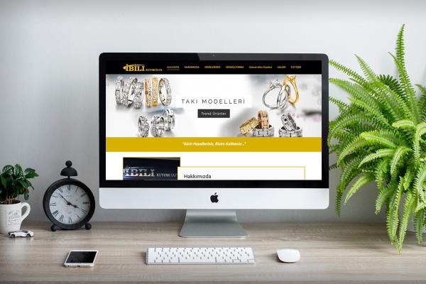 İbili Kuyumculuk – Web Tasarım