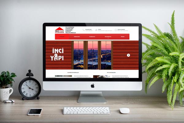 İnci Yapı – Web Tasarım