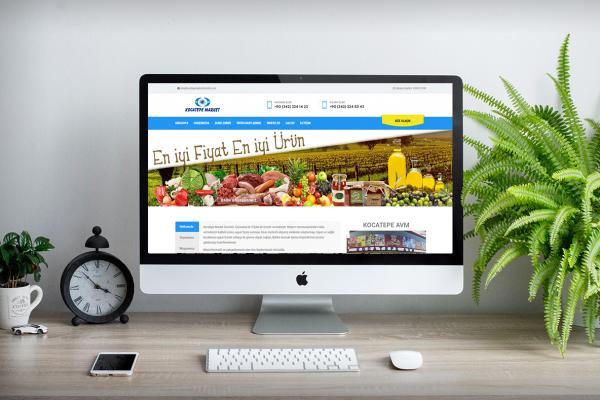 Kocatepe Market Zincirleri – Web Tasarım