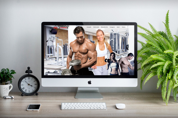 Momentum Fitness Club – Web Tasarım