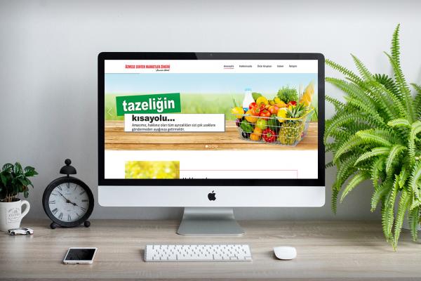 Özmeşe Marketler Zinciri – Web Tasarım
