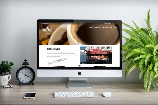 Pasha Kahve – Web Tasarım