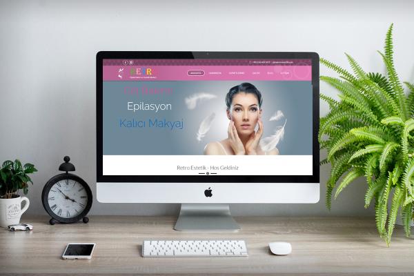 Retro Estetik – Web Tasarım
