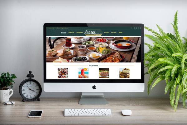 Sera Pastanesi – Web Tasarım