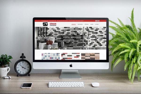 Sinan Cam Mozaik – Web Tasarım