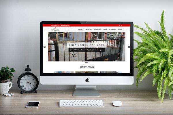 SNN Metal – Web Tasarım