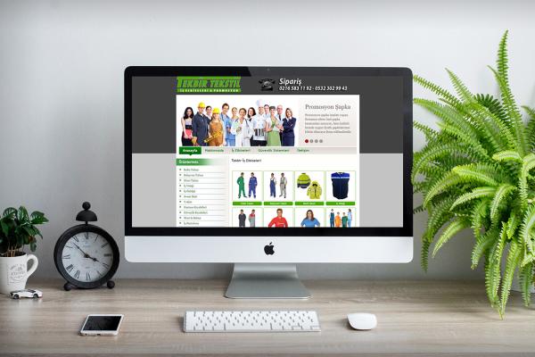Tekbir İş Elbiseleri – Web Tasarım